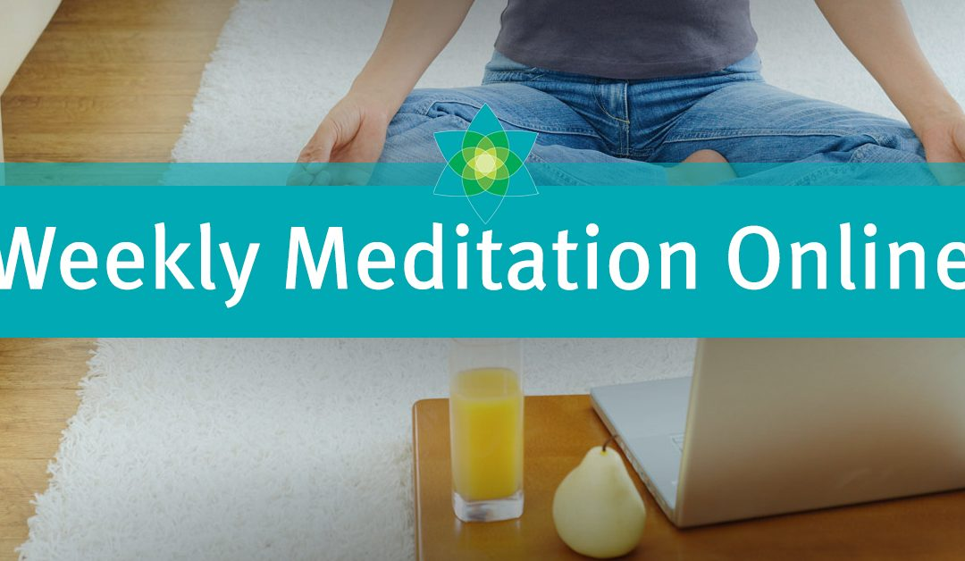 Weekly Meditation Online – October 30 with Rabbi Sam Feinsmith